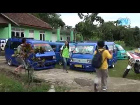 Berwisata angkot monster di kota bogor pada kegiatan CFM KPM 2014