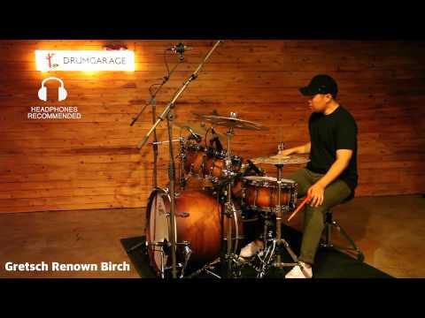 Gretsch Renown Birch Set