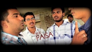 RISK PAISA   a Comedy Telugu Short Film   Movie   a Manu pictures and Vyali Arts - YOUTUBE