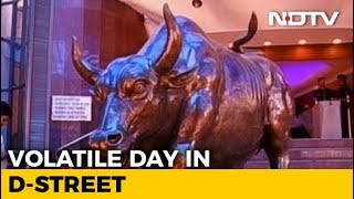 Wild Swing In Markets As Sensex Recovers Over 900 Points From Day's Low - NDTV