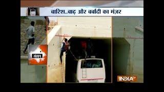Floods wreak havoc in parts of Rajasthan and Gujarat - INDIATV