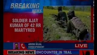 Soldier injured in Tral firing succumbs; search operations currently underway - NEWSXLIVE