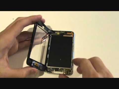 Tutorial - iPod Touch 2nd/3rd Gen - How to Replace Front Glass & Digitizer Assembly w/ Midframe