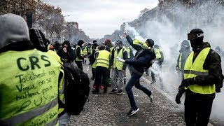 LIVE: Police deployed in Paris as Yellow Vests plan massive 'Macron resign' protest - RUSSIATODAY