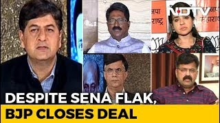 Despite Sena Flak, BJP Closes Deal - NDTV