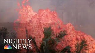 Hawaii Lava Threatens To Block Remaining Roads For Evacuation | NBC Nightly News - NBCNEWS