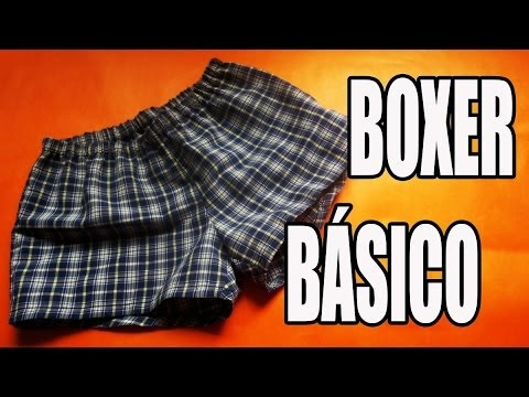 DIY: Boxer básico para hombre