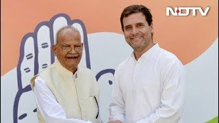 अपने पोते के साथ कांग्रेस में शामिल हुए सुखराम - NDTVINDIA
