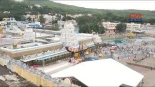 All Arrangements Set For Maha Samprokshanam in Tirumala | CVR News - CVRNEWSOFFICIAL