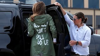 'I really don't care': Melania wears contentious jacket after visiting migrant kids shelter - RUSSIATODAY