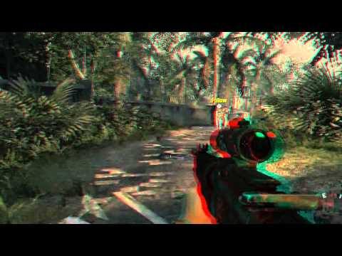 CoD: Black Ops 3D Anaglyph XFX ATi Radeon HD4650 1GB