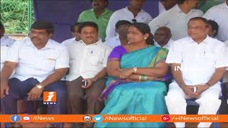 Congress Leaders Protest Against BJP Govt GVMC Gandhi Statue | Vizag | iNews - INEWS