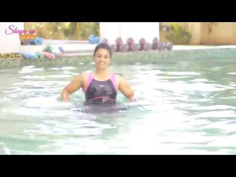 Crossfit in the pool - Aqua aerobics exercises to challenge yourself