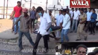Man injured due to train hit at Dabeerpura – help arrived after 1 hour - THENEWSWALA