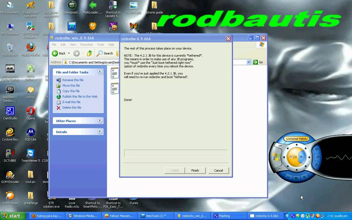 descargar redsnow 0.9.6b6 windows