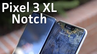 Pixel 3 XL notch size vs others - PCWORLDVIDEOS