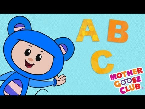 ABC Song with Eep the Mouse, Mother Goose Club Nursery Rhymes