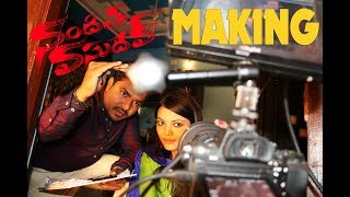 Nanditha Vasudev Making Video | A Short Film By Vikram Aditya | Latest Telugu Short Films 2018 - YOUTUBE