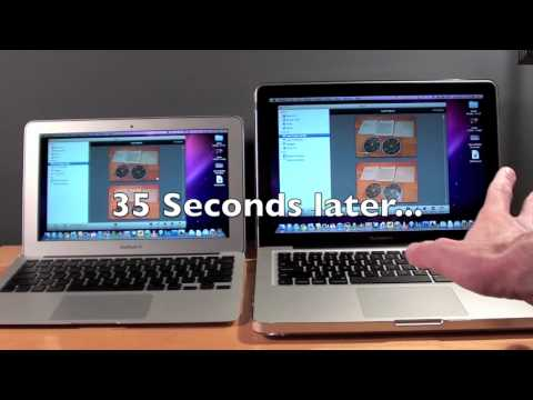 MacBook Pro vs MacBook Air: Speed Test