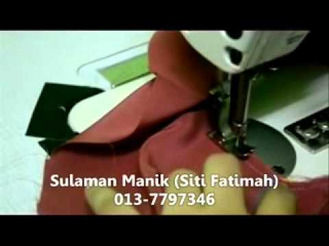 Sulaman Manik - Gadjet Tapak Piping (Jahit Piping Leher Part 3).flv