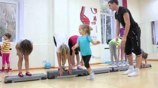 Детская аэробика и гимнастика в BIG Dance. Фитнес для детей в Киеве.