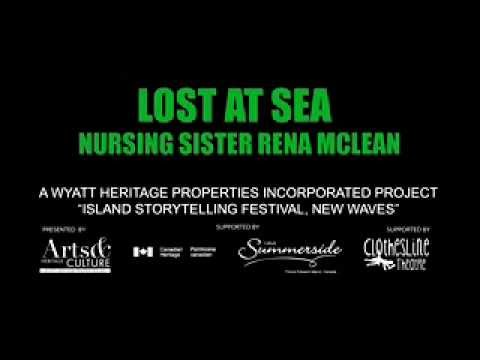 Lost at Sea Nursing Sister Rena McLean