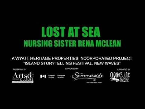 Lost at Sea Nursing Sister Rena McLean