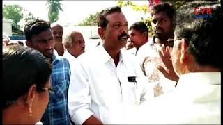 Farmers Protest Against To Land Pooling For Greenfield National Highway At Khammam l CVR NEWS - CVRNEWSOFFICIAL