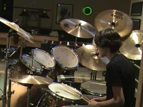 Led Zeppelin Fool in the rain drum cover  Kenny Sosnowski