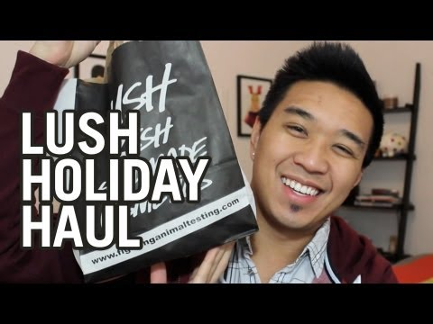 LUSH Holiday Haul 2012-2013!