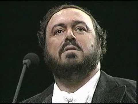 Luciano Pavarotti. 1987. Questa o Quella. Madison Square Garden. New York