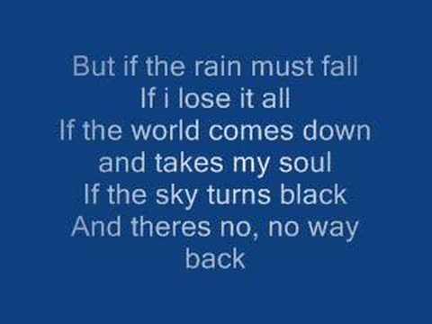 If The Rain Must Fall