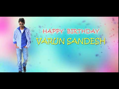 Happy Birthday Varun Sandesh  - Paddanandi Premalo Mari Team