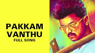 Pakkam Vanthu – Kaththi Audio Song Online | Kaththi mp3 songs