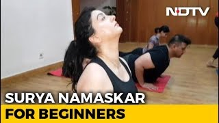 Health Benefits Of Surya Namaskar - NDTV