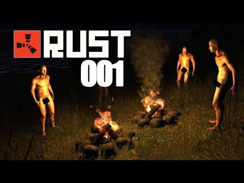 RUST ► Nudisten-Camp  [001] - Rust Let's Play