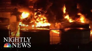 Massive Chemical Fire Could Burn For Two More Days, Officials Say | NBC Nightly News - NBCNEWS