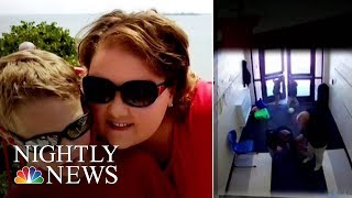 Video Appears To Show Student With Autism Dragged By Teacher | NBC Nightly News - NBCNEWS