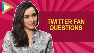 Shraddha Kapoor on comparisons with ALIA BHATT & lot more | Twitter Fan Questions | BGMC | Saaho - HUNGAMA