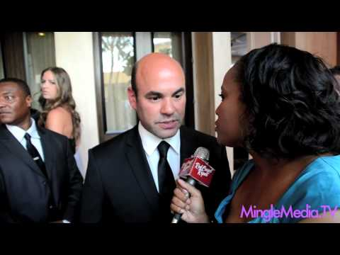 Ian Gomez @IBGomez at the 27th Annual Imagen Awards Red Carpet Report Interview