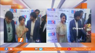 Actress Samantha Launches Samsung S9 Mobiles At Big C Showroom In Hyderabad | iNews - INEWS