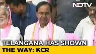 KCR To Take Oath As Telangana Chief Minister Today - NDTV