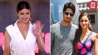 Priyanka Opts Out Of Sahir Ludhianvi's Biopic | Sidharth –Alia's 'Aashiqui 3' To Be Shelved?