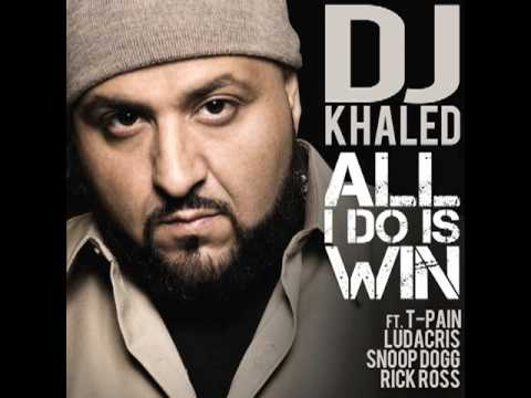 DJ Khaled All I Do Is Win feat. Ludacris Rick Ross Snoop Dogg & T Pain