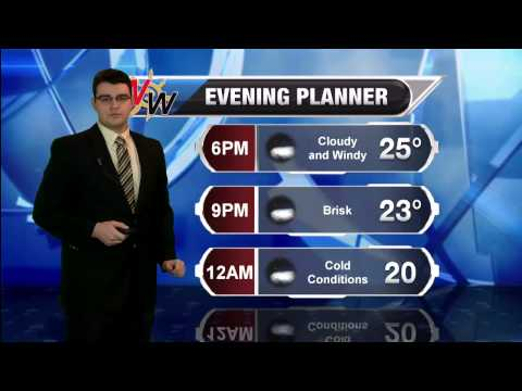 Tuesday, January 27th 2015 PM Snow Forecast