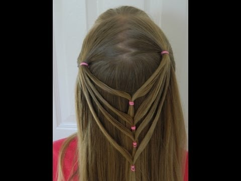 beautiful net hairdo / Bonita Hair Do