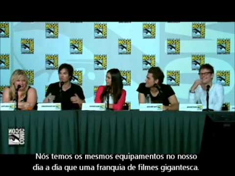 The Vampire Diaries - Comic Con 2012 - Parte 2 (Legendado)
