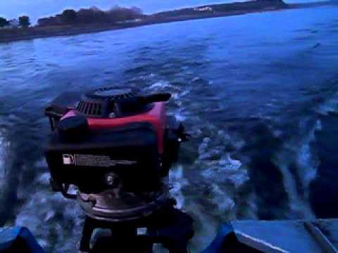 как форсировать лодочный мотор прибой