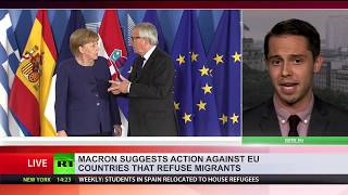 EU leaders try to find solution to migrant crisis amid inner tensions - RUSSIATODAY
