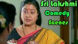 Comedian Sri Lakshmi Back To Back Best Comedy Scenes || 02 - NAVVULATV